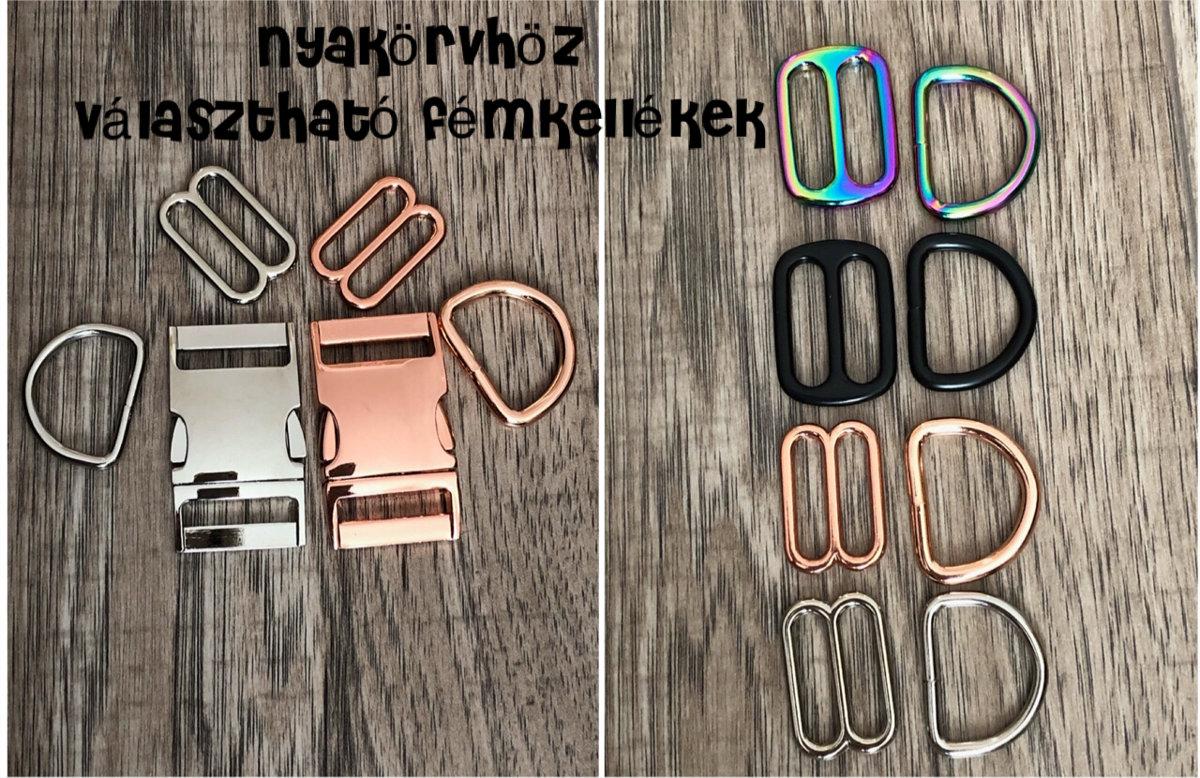 Egyedi feliratos Nyakörv / Póráz / Hám